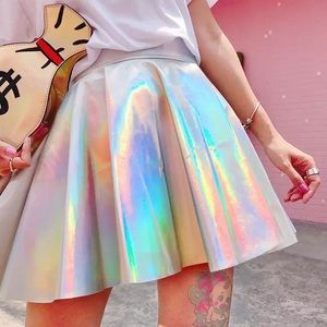 Med Holographic Skirt